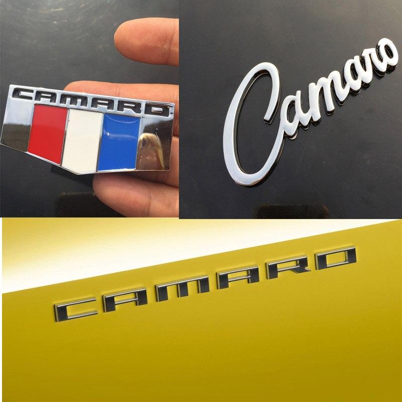 NEW 502 Front Fender Emblem Set White Trim For 1969 CAMARO 1969-1974 NOVA ETC.
