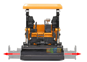 Image 3 - Simulation 1:40 Engineering Alloy Paver Paving Asphalt Highway Construction Car Vehicle Model Decoration Kid Toys Free Shipping