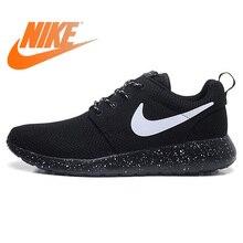 premium selection 1113d 74f06 Nouveauté originale authentique NIKE ROSHE RUN chaussures de course  respirantes pour hommes Sport baskets de plein