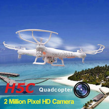 JJRC H5C 4-CH 360 Flips 2.4GHz RC Quadcopter with CF Headless Mode 6-Axis Gyro 2MP FPV Camera RTF