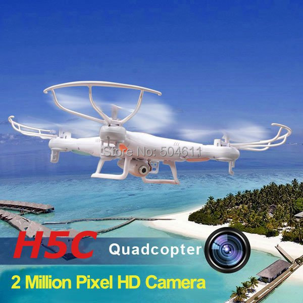JJRC H5C 4CH 360 Flips 2.4GHz RC Quadcopter Drone with Headless Mode 6-Axis Gyro 2.0MP FPV Camera RTF цена