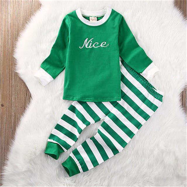 425979cd66b5 Online Shop NEWBABY Christmas Striped Infant Baby Onesie Boys Girls ...