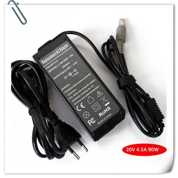 20В 90Вт AC адаптер зарядного устройства для IBM  Lenovo  ThinkPad  моделей t60 t61 Х60 Т400 адаптер питания универсальный блок питания для ноутбука шнур новый