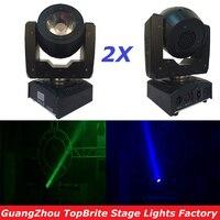 2 XLot 60 Вт RGBW 4IN1 светодиодный перемещение головы луч света светодиодный Дисплей хорошее качество высокое Яркость 60 Вт луч + мыть Перемещение г
