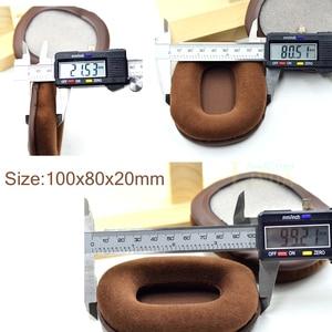 Image 5 - Bruin Velours oorkussens kussen voor Audio technica ATH M50 M50S M50X M40 M40S M40X