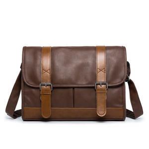 BAILLR Leather Messenger Bag Men s Crossbody Bag male 213666b9bd