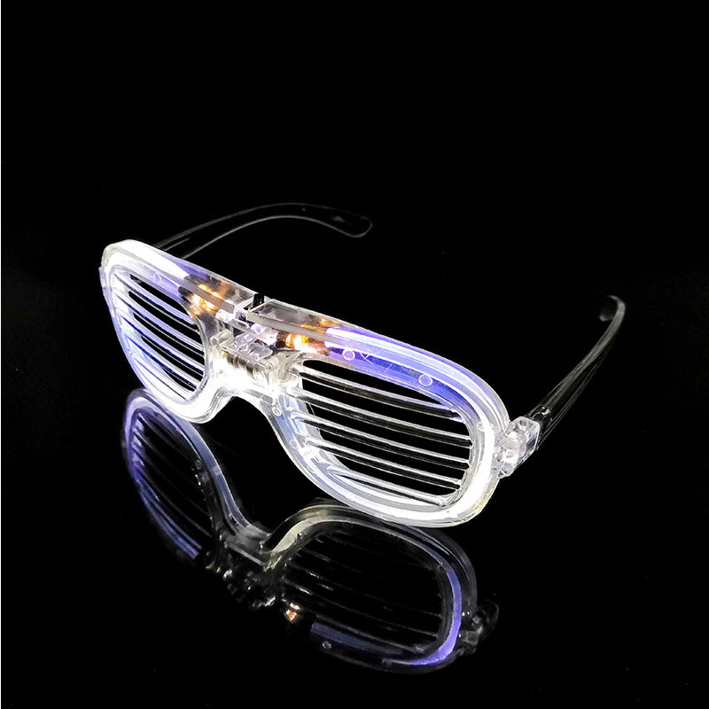 Shutter Glasses With LED Luminous Lighting For Birthday And Night Party 1