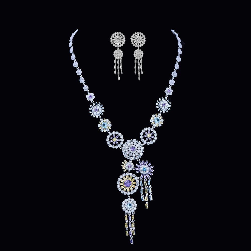 Meilleure vente de luxe rond 925 en argent Sterling Dubai mariage pour les femmes dame anniversaire cadeau bijoux en gros J5179Meilleure vente de luxe rond 925 en argent Sterling Dubai mariage pour les femmes dame anniversaire cadeau bijoux en gros J5179