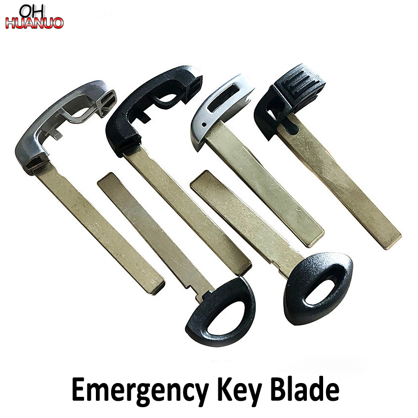 For BMW 1 3 5 6 X3 X5 Z4 M series uncut blank key blade for smart remote key