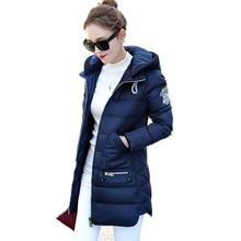 Big Size 7XL Winter Jacket Women 2016 New Europe Style Hooded Slim Medium Long Winter Plus Size Parkas Lady Top Coat Hot YY285
