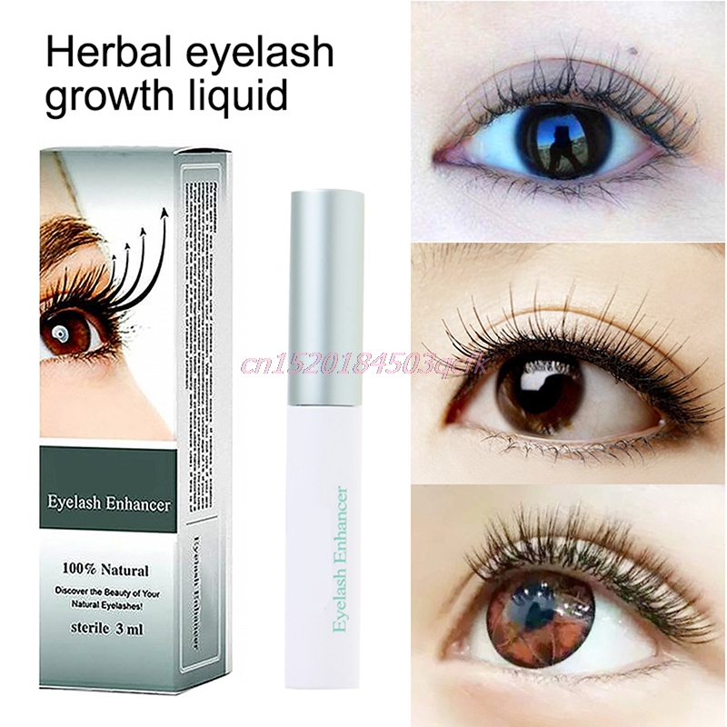 ba1c1c8fd82 Chinese Herbal Eyelash Enhancer Eye Lash Rapid Growth Serum Liquid Natural  3ml