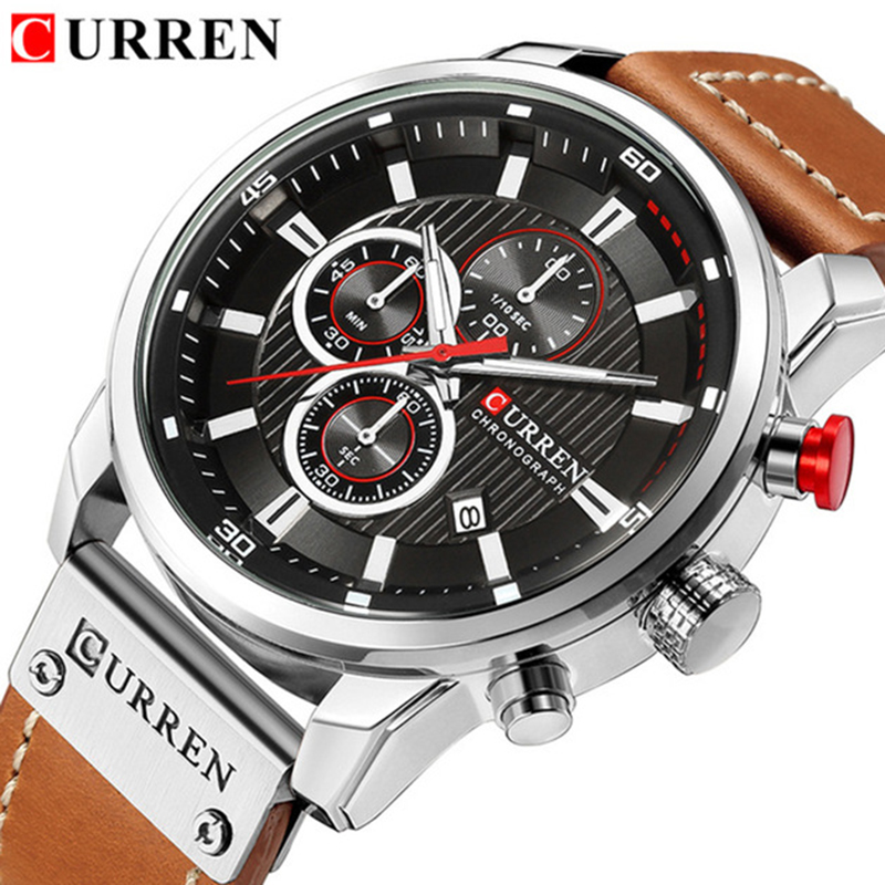Relogio Masculino Fashion Casual CURREN Watches Men Quartz Top Brand Analog Military Male Watch Men Sports Army Watch Waterproof ford r the essential tales of chekhov