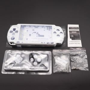 Image 2 - 1Set Voor PSP3000 Psp 3000 Shell Oude Versie Game Console Vervanging Volledige Behuizing Cover Case Met Knoppen
