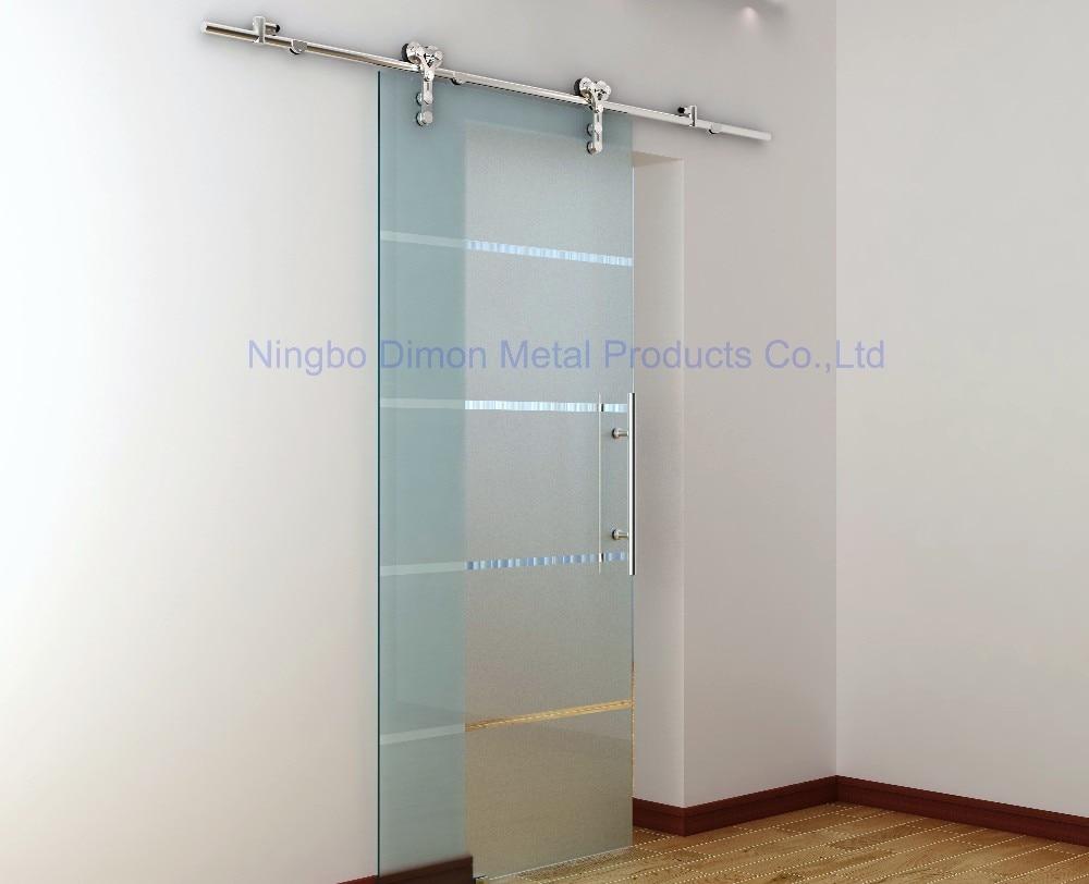 Dimon Stainless Steel Door Hardware Glass Sliding Door Hardware