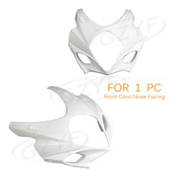 Unpainted Motor Upper Front Fairing Cowl Nose Fits for Suzuki GSXR 1000 K7 2007 2008 ABS Plastic