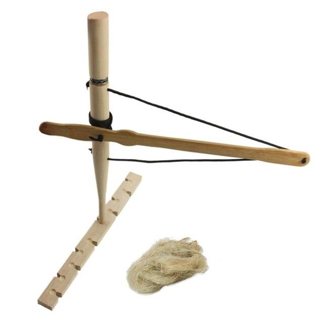Equipamento ao ar livre ferramenta de incêndio mão broca madeira para fazer fogo fricção sobrevivência mais leve acampamento caminhada ferramenta bush craft kit viagem novo