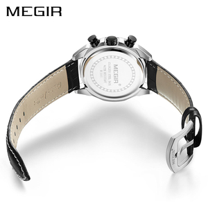 Image 2 - Megir クロノグラフスポーツウォッチ男性の高級クリエイティブ腕時計時計男性レロジオ masculino 2065 陸軍軍用腕時計