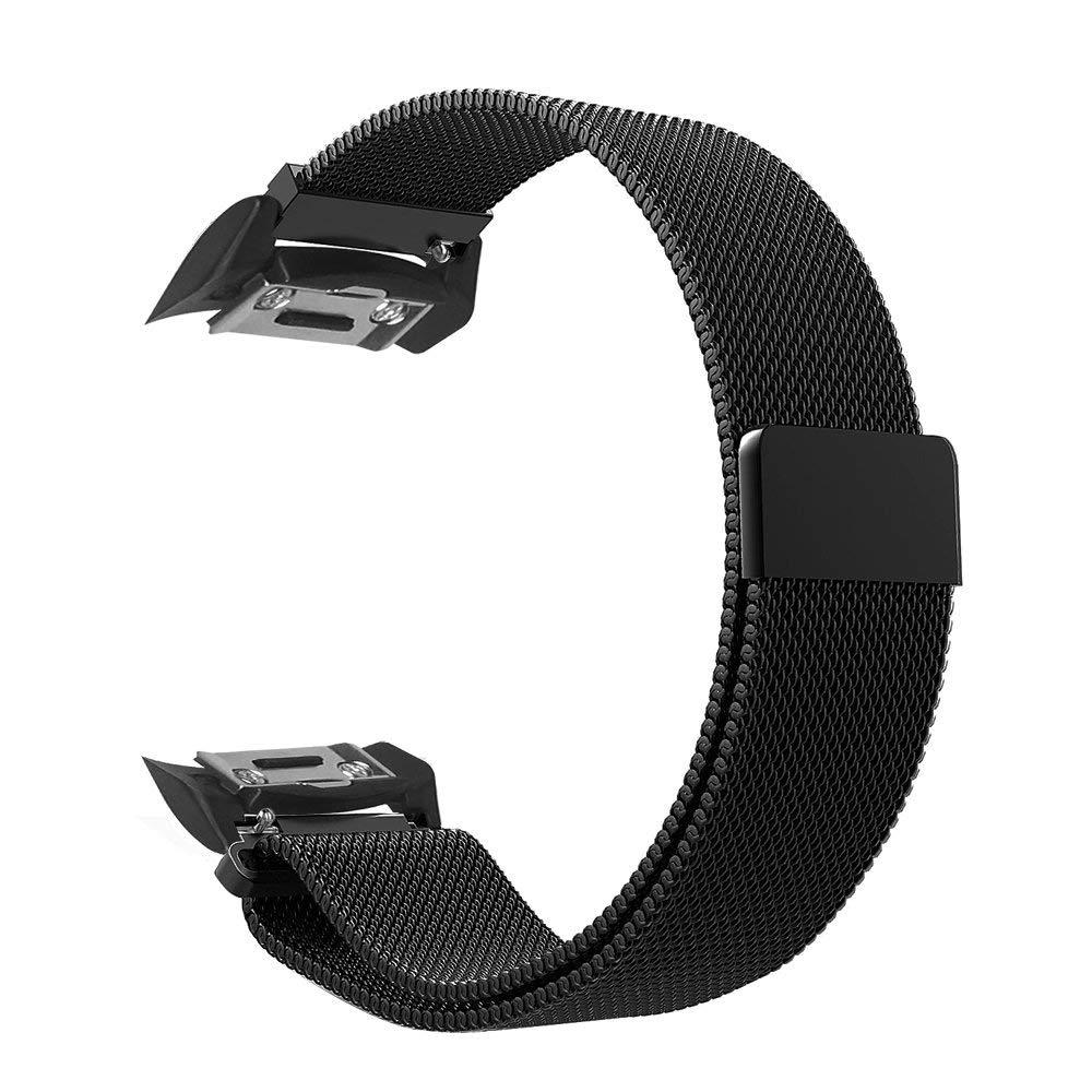 Ktab Montre Bande Compatible Samsung Vitesse S2 SM-R720/SM-R730 Montre Smart Watch Milanese Boucle Sangle pour les Engins S2 bande adaptateur regarder les Pattes