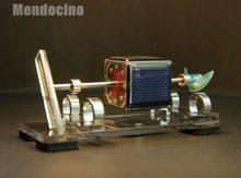 Luz motor de suspensão magnética mendocino motor solar brinquedos científicos brinquedos física
