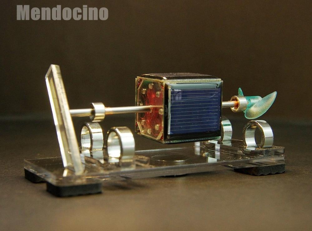 Light engine magnetic suspension Mendocino Motor solar toy Scientific toys physics toys
