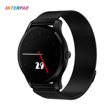 Interpad K88 Monitor de Freqüência Cardíaca Relógio Inteligente Tela de Toque de Fitness Rastreador Smartwatch relógio de Pulso Monitor de Sono Para Xiaomi Huawei