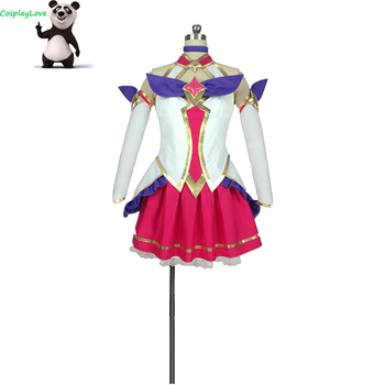 New Custom Made American Game LOL Star Guardian Magic Girl the Nine-Tailed Ahri Cosplay Costume Christmas Halloween CosplayLove