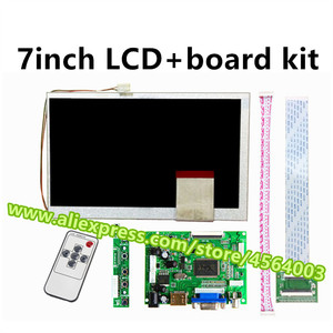 7 inch 60pins 800*480 display LCD Controller KR070PC5S KR070PC7S screen monitor driver board HDMI VGA 2AV kit for Raspberry Pi(China)