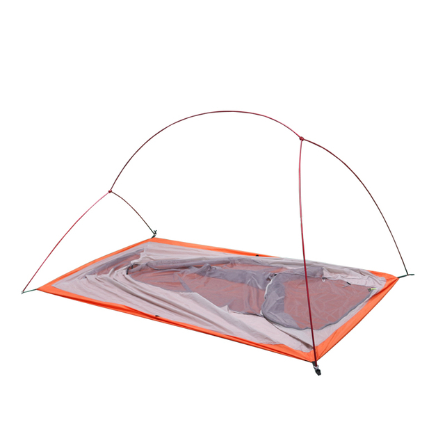Hillman Tent 20D Silicone Fabric Ultralight 2 Person Double Layers Aluminum Rod Camping Tent 4 Season With 2 Person Mat