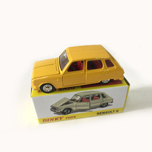 Rare Dinky Toys car models 1:43 1416 Renault 6 Alloy Diecast Car & Model Collection toy Children Birthday Gift