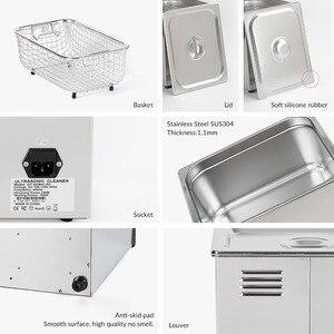 Image 5 - GTSONIC R3 ultradźwiękowa 3L 100W z cyfrowym wyświetlaczem ogrzewanie Degas Basket ultradźwiękowa kąpiel