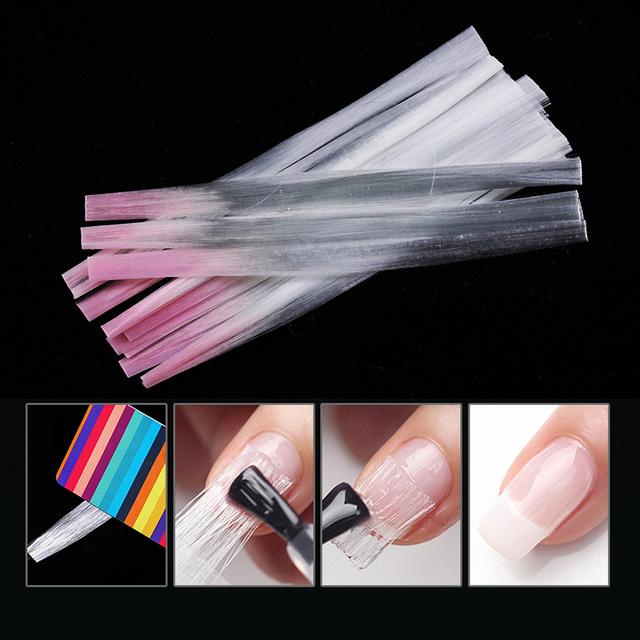 Colorful Professional Fiberglass Nail