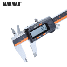 MAXMAN 0-150mm Stainless Steel High Precision Electronic Digital LCD Vernier Caliper Measuring & Gauging Tools 0 300mm double columns digital height gage electronic caliper lcd screen stainless steel measuring tool