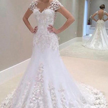 Alexzendra Mermaid Wedding Dresses Bride Dresses