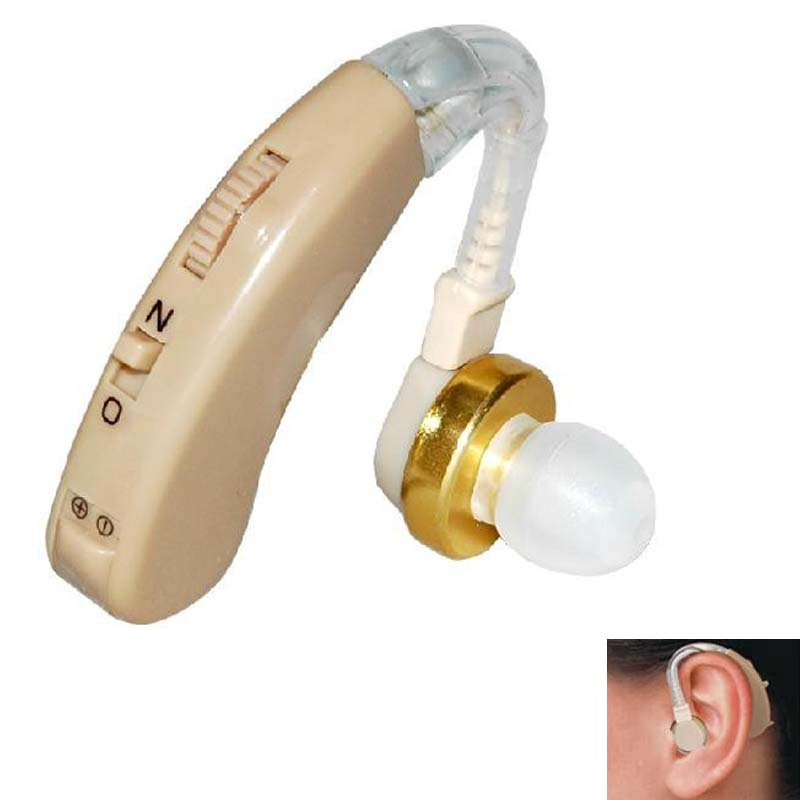 mini hearing aid kit BEHIND the EAR Sound Voice Amplifier Deaf Hearing Aid Cyber Sonic Hearing Aid/TV hearing aids Powertone 1pcs hearing aid mini behind ear high low tone and convenient hearing aid aids best sound voice amplifier for both ears s 101