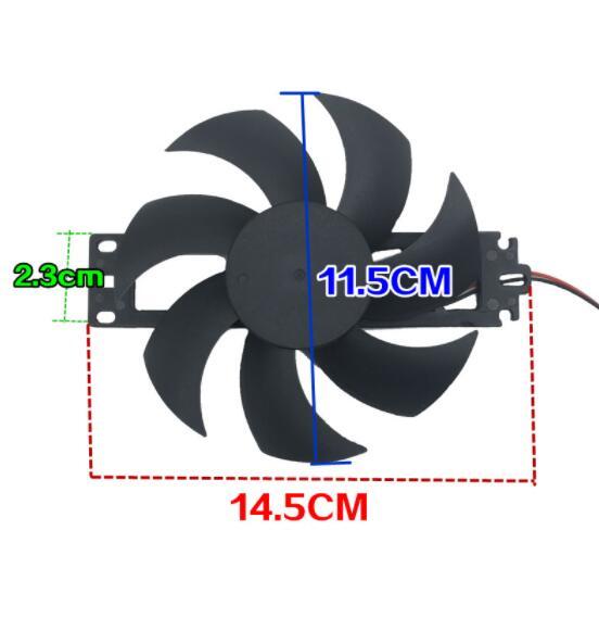 Детали для индукционной плиты нож для охлаждающего вентилятора диаметр 11,5 см