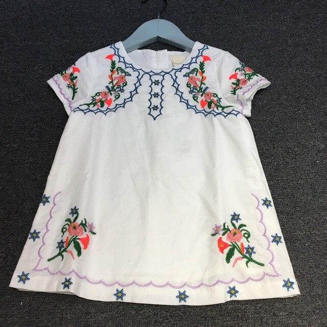 Toddlers Summer Dress Children Clothes Baby Girls 1 2 3 4 5 Anos