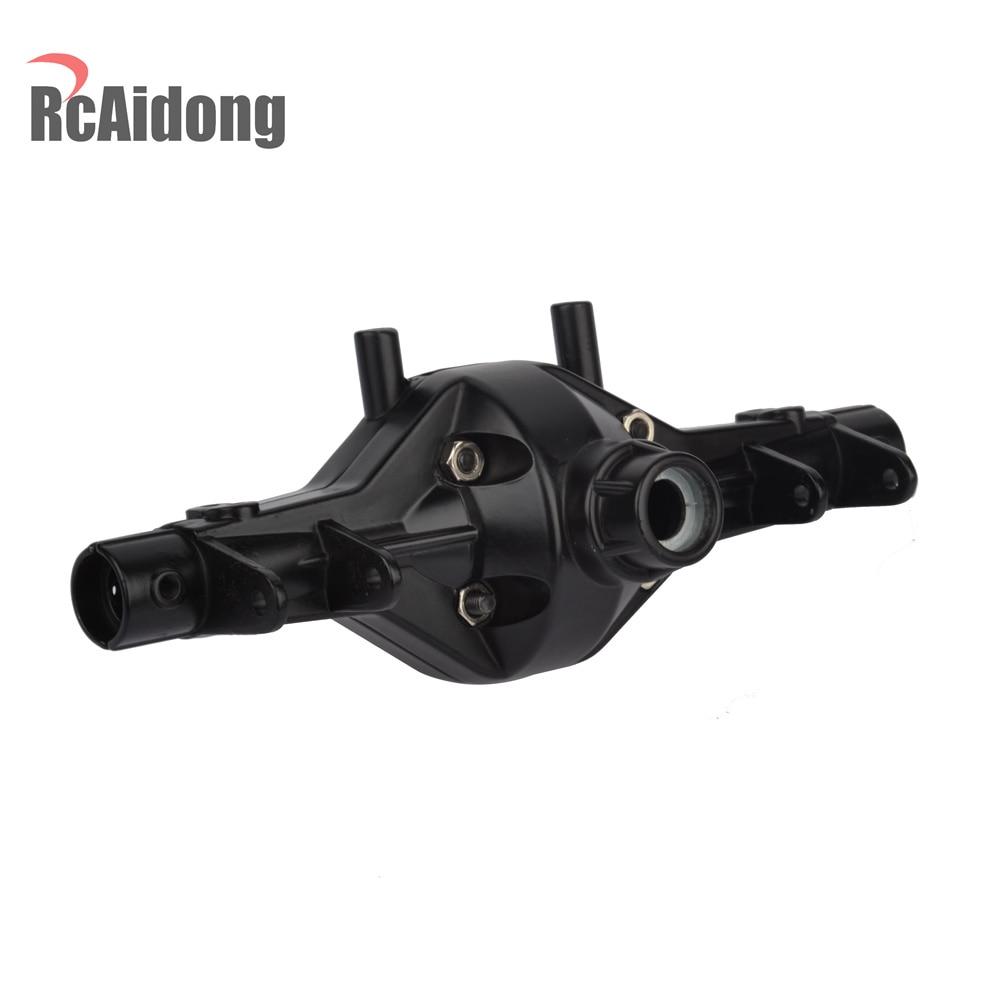 Carcasa de eje delantero delantero de aleación de acero para 1/10 RC - Juguetes con control remoto - foto 6