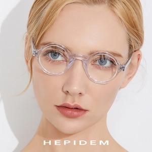 Image 3 - Acétate optique lunettes cadre hommes nouveau rétro Vintage rond lunettes de vue femmes lunettes homme femme optique Nerd lunettes Zolman