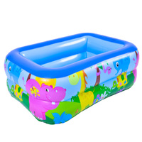Children's Home Use Paddling Pool Large Size Inflatable Square Swimming Pool Heat Preservation Kids inflatable Pool Hot Sale