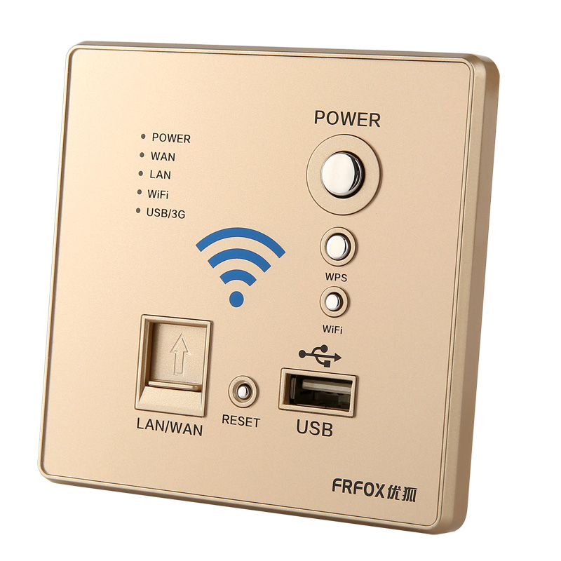 Darling switch 86*86mm wifi /USB wall switch and light switch WIFI wireless router 150M wall