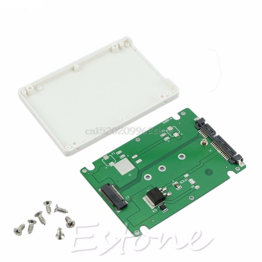 H029 SATA Adapter Card With 7 MM Thickness Case # # Enclosure M.2 NGFF SSD to 2.5