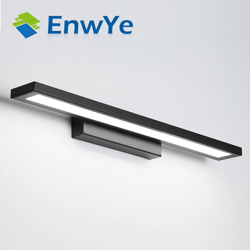 EnwYe Wall lamps bathroom led mirror light Waterproof 5W 8W 11W AC85-265V Modern acrylic Wall lamp Bathroom Lighting BD61 vemma acrylic minimalist modern led ceiling lamps kitchen bathroom bedroom balcony corridor lamp lighting study