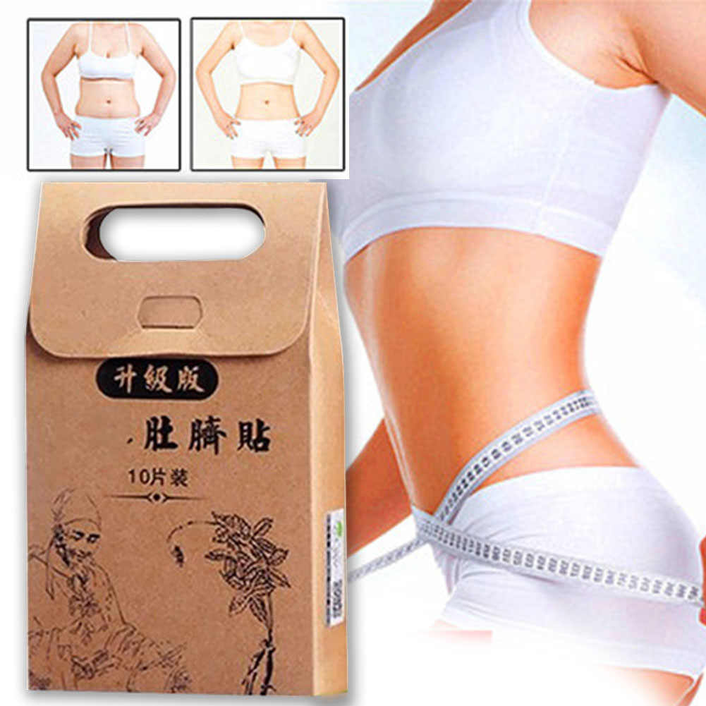 Detox Slimming Fat Burner Sheet Chinese Medicine Men Or Women Slim Patch STRONGEST Adhesive Sheet Diets Slim Pads Weight Loss