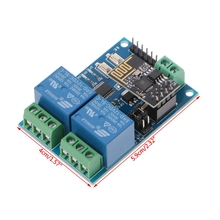 WIFI Relay Module ESP8266 IOT APP Controller 2-Channel For S