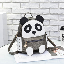 Backpack bag new spring and summer 2019 tide female backpack student fashion leisure panda