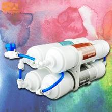 Купить с кэшбэком 4 Stages Portable Ultrafiltration Water Filter System DIY On Sale