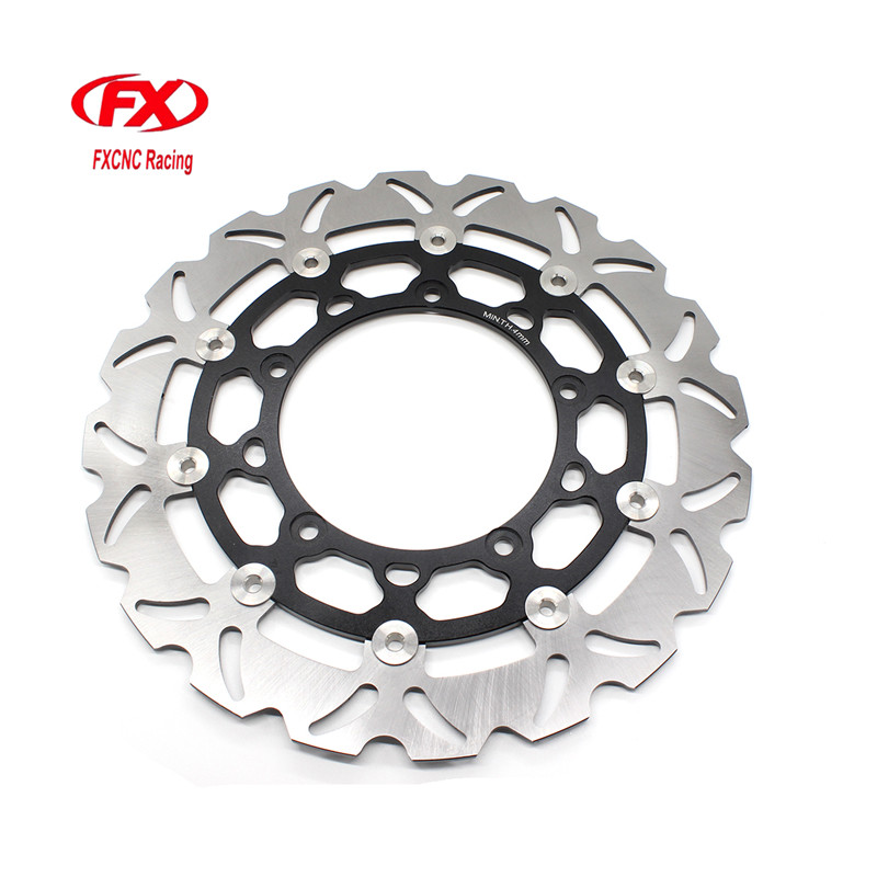 FX CNC Motorcycle Brake Disks Front Brake Disc Rotor For Yamaha R25 R3 2015 - 2016 Motorbike Front Brake Disc Rotor стоимость