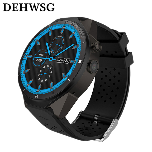 DEHWSG Smart Watch S99C For Samsung gear s3 with 2MP Camera 1GB RAM 16GB ROM SIM Card 3G WIFI GPS Smartwatch Heart rate monitor