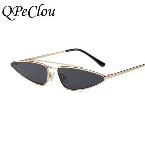 QPeClou Modern Style Small Water Drop Shaped Sunglasses Women Fashion Cat Eye Sun Glasses Female Brand 2018 New Eyewear UV400 Karachi
