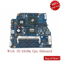 NOKOTION A1820711A For Sony VPCSA VPCSB VPCSE VPC SC1A 13 inch Laptop Motherboard Mbx 237 With I5 2410m Cpu Onboard
